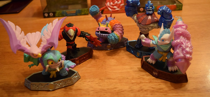 Skylanders Imaginators Wave 4 Pain-Yatta Grave Clobber Easter Variants Out Now