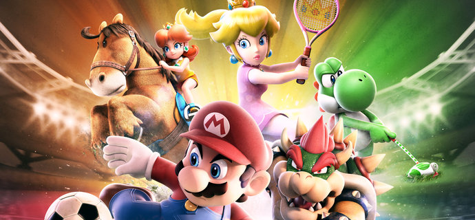 Mario Sports Superstars Review A question of sports