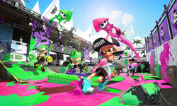 Splatoon 2 Review: Splat in the game