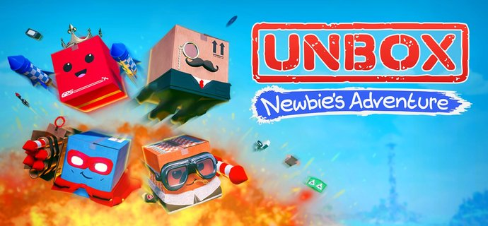Unbox Newbies Adventure Review Box of tricks  Everybody Plays
