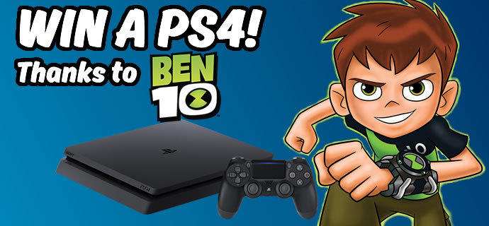 WIN A PS4 thanks to Ben 10