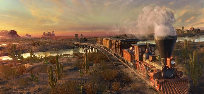 Railway Empire Review Wild west steam-powered wagons