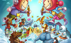 Hands On with Scribblenauts Showdown's co-op sandbox and competitive mini-games