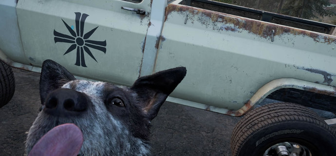 how to pet a dog in far cry 5