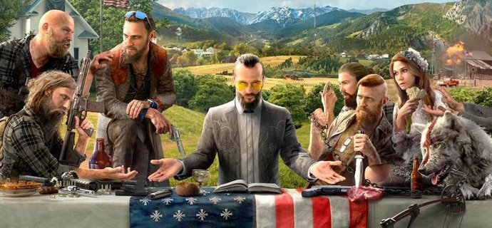 Far Cry 5 Review Born again the USA