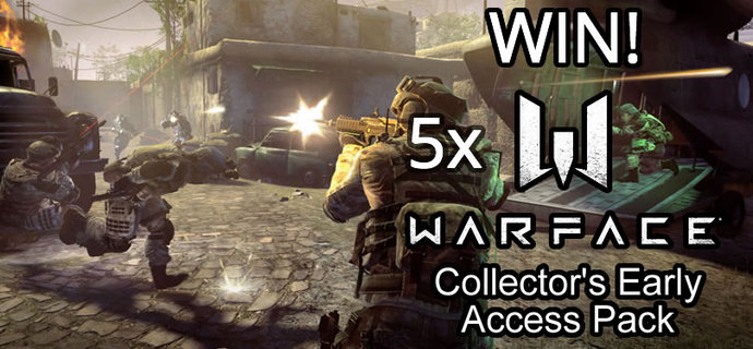 WIN 5x Warface Collectors Early Access Packs