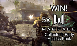 WIN: 5x Warface Collector's Early Access Packs