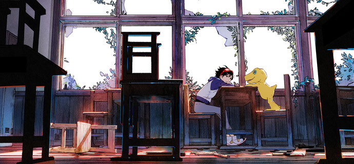 What is Digimon Survive Story characters and battle info