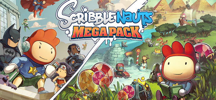 Scribblenauts Mega Pack Review Super-powered spelling fun