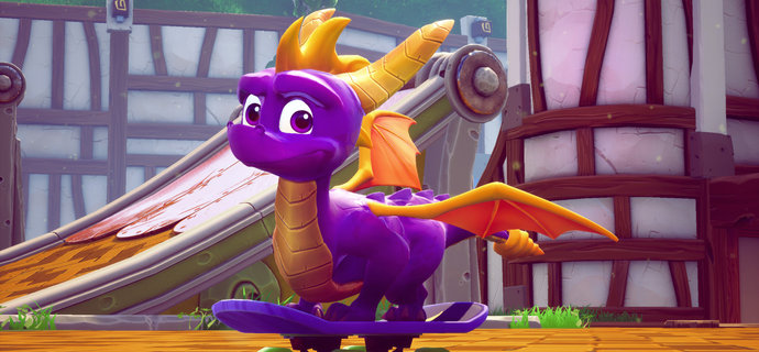 Spyro Reignited Trilogy Review Enter the Dragon