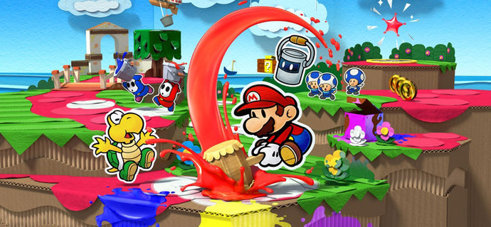 Parents Guide Paper Mario Colour Splash Age rating mature content and difficulty