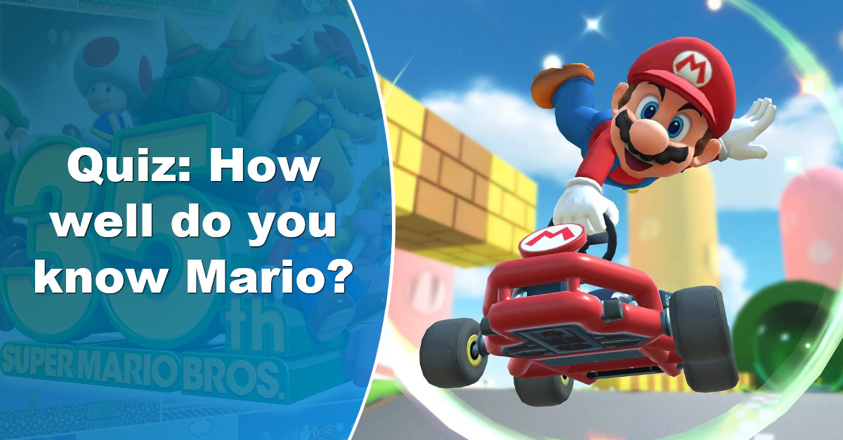 The Ultimate Mario Quiz: How well do you know Nintendo's famous plumber?