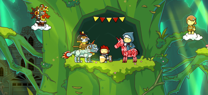 Scribblenauts Unlimited Announced For The Wii U And 3DS