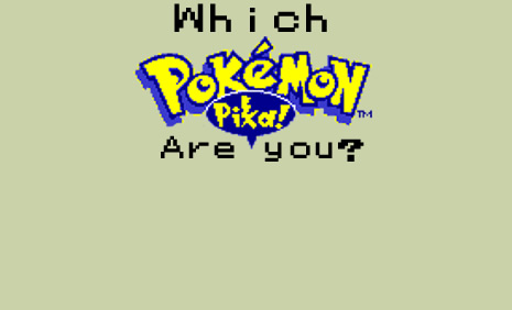 Pokemon Quiz Background