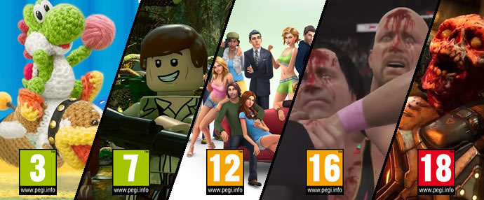 PEGI: Video Game Age Ratings Explained
