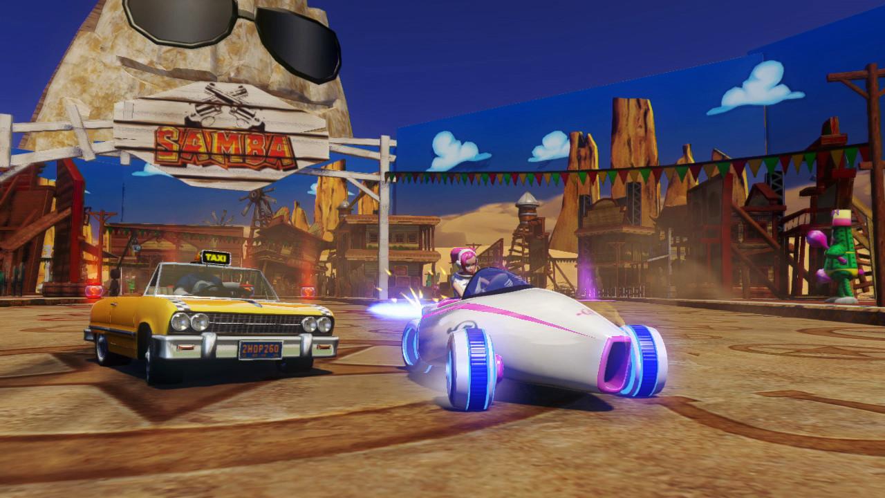 Sonic & All-Stars Racing Transformed Screenshots (WiiU)