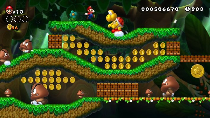 New Super Mario Bros U Screenshot