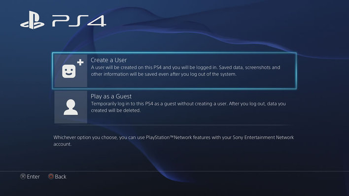 how to make a playstation 4 account