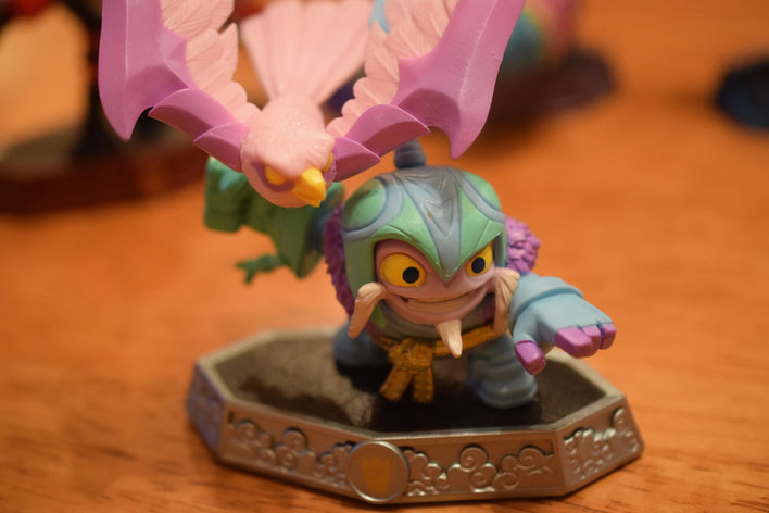 Skylanders Figures Screenshot