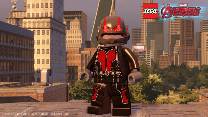 Lego Marvel's Avengers gets free Ant-Man level and characters ...
