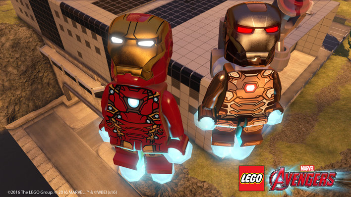 Lego Marvels Avengers Screenshot
