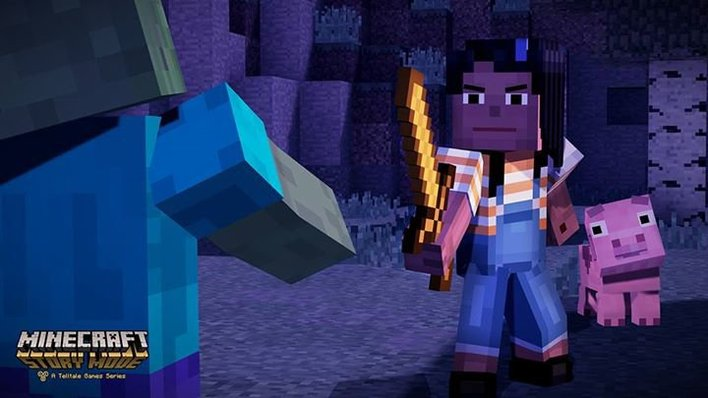 Minecraft Story Mode Review Outcyders