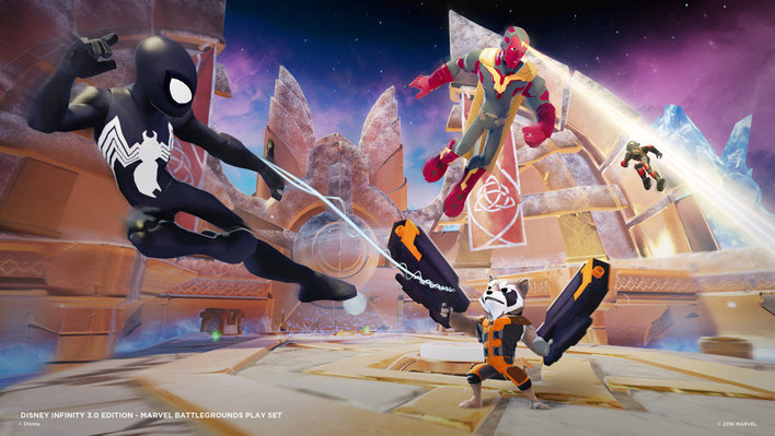 Disney Infinity 30 Marvel Battlegrounds Screenshot