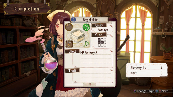 Atelier Sophie Screenshot