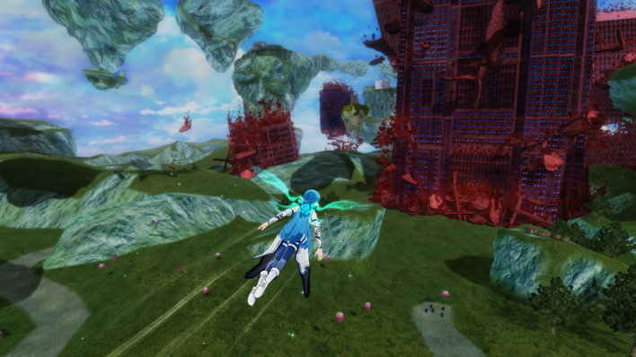 Accel World vs Sword Art Online Screenshot
