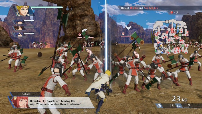 Fire Emblem Warriors Screenshot