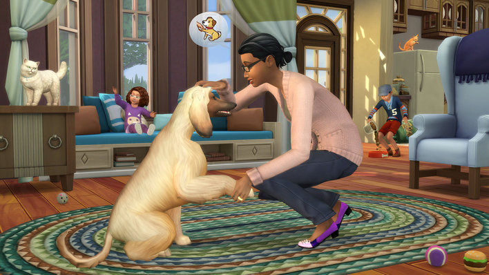 The Sims 4 Cats & Dogs Screenshot