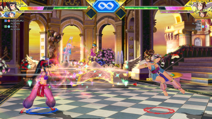 SNK Heroines Screenshot
