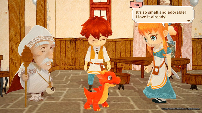 Little Dragons Cafe Screenshot
