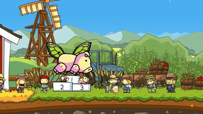 Scribblenauts Mega Pack Screenshot