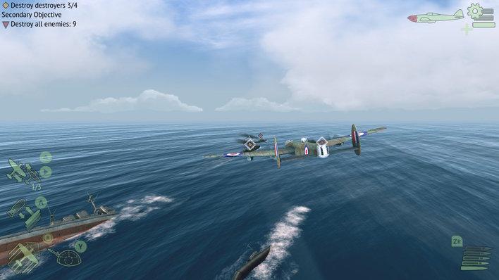 Warplanes WW2 Dogfight Screenshot