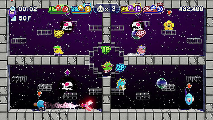Bubble Bobble 4 Friends The Baron is Back Screenshot
