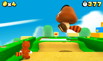 Super Mario 3D Land Screenshot
