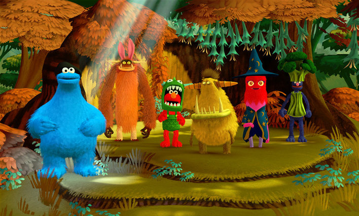 Sesame Street Once Upon a Monster Screenshot