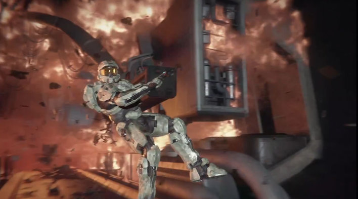 halo 4. Halo 4 Screenshot. He#39;s back.