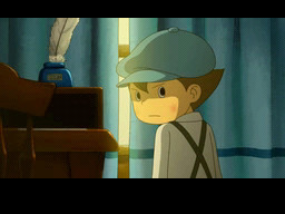 Professor Layton and the Spectres Call Screenshot