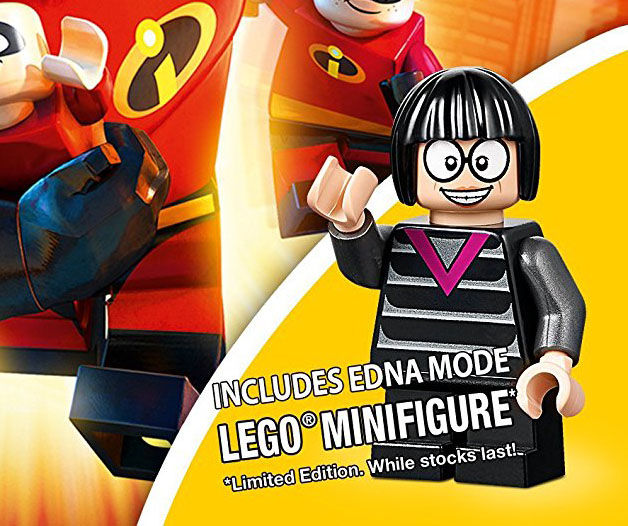 LEGO Os Incríveis - Edna Moda Minifigure