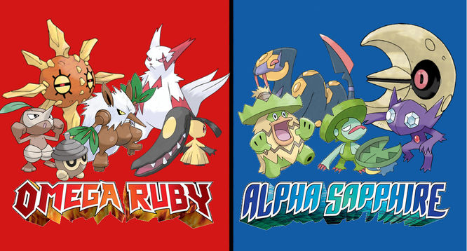 What Are The Differences Between Pok 233 Mon Omega Ruby And