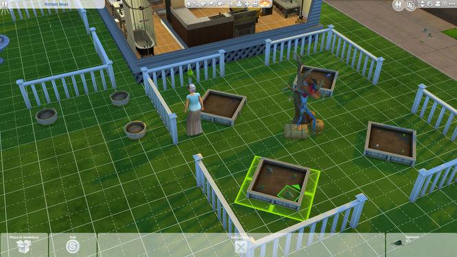 The Sims 4: Seasons - Gardening